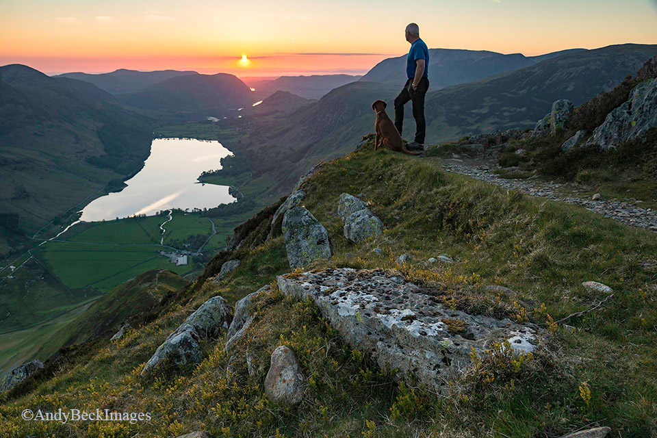 Buttermere from High Stile