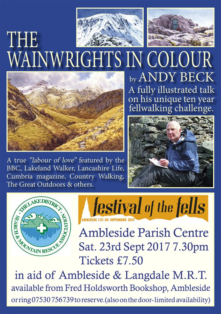 The Wainwrights in Colour Festival of the Fells