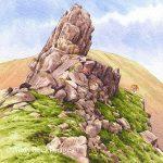 Helm Crag summit