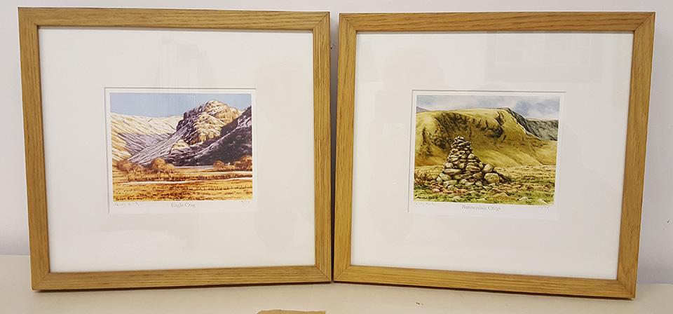 Eagle Crag and Bannerdale Crags framed prints