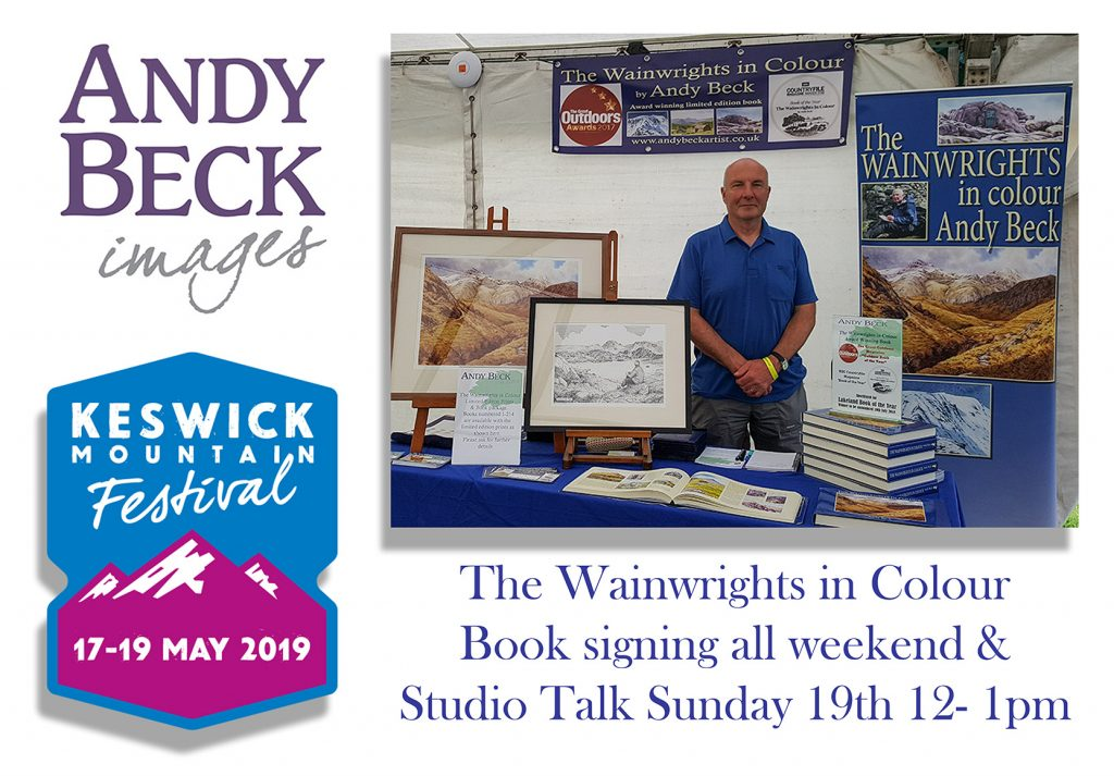 Andy Beck at Keswick Mountain Festival