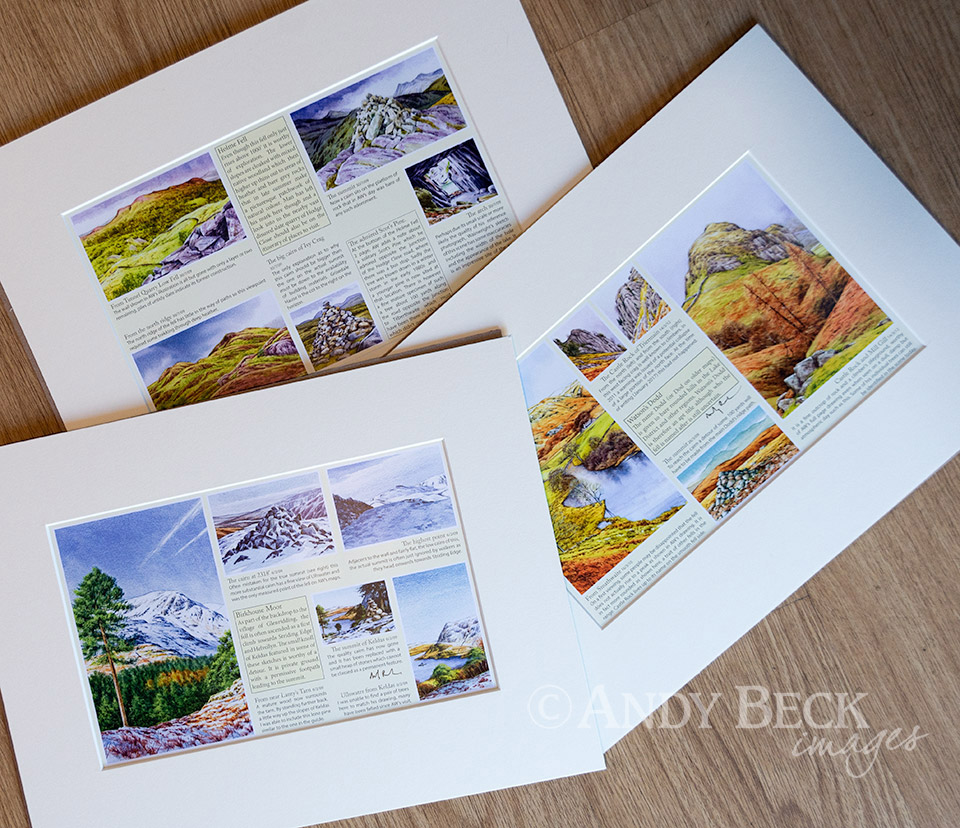 Pages from The Wainwrights in colour