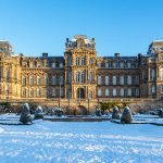 Bowes Museum and snow