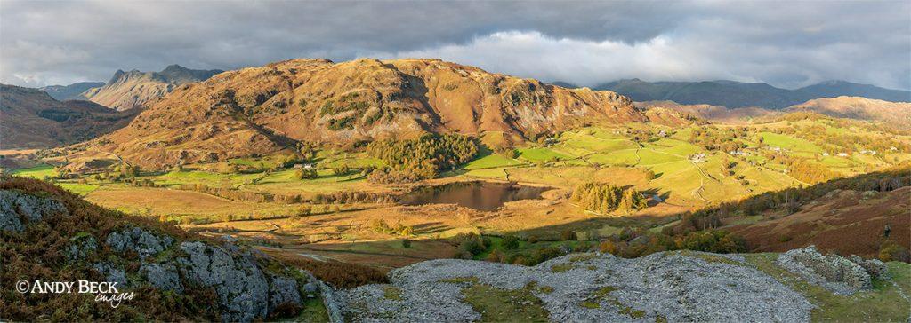 Evening light on Lingmoor Fell