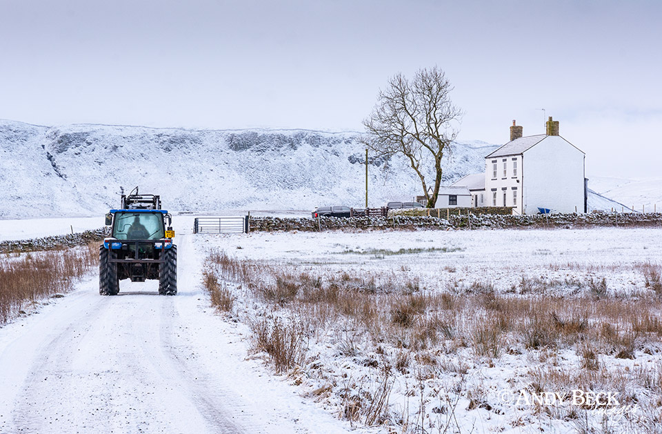 Work goes on, Upper Teesdale