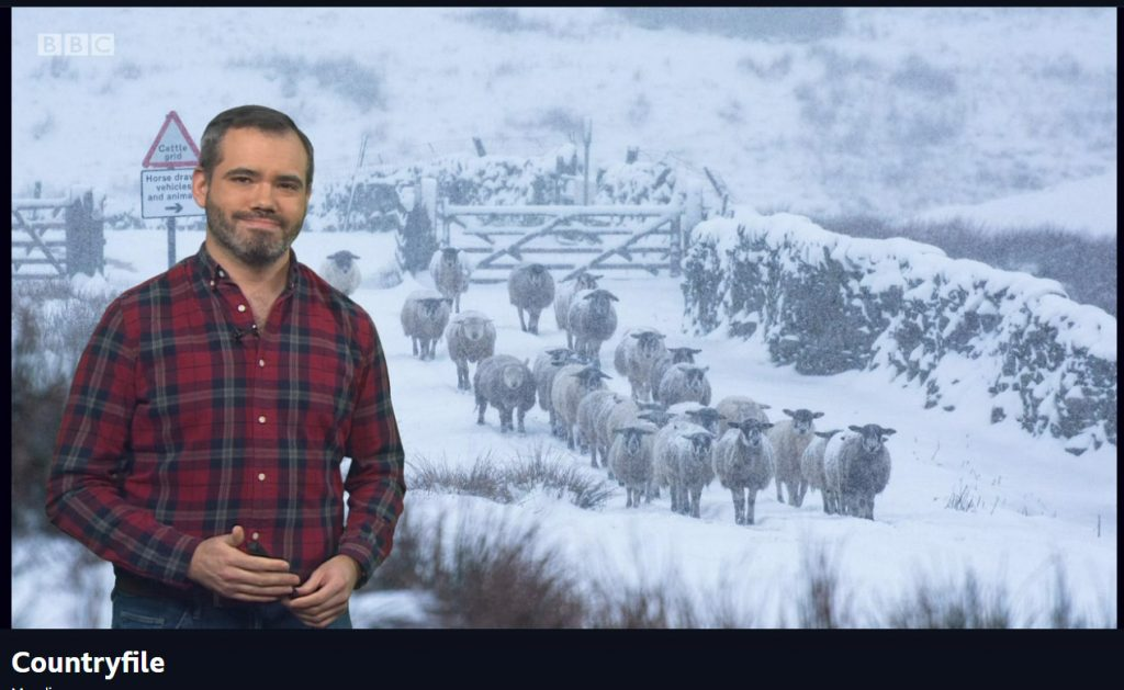 Countryfile weather