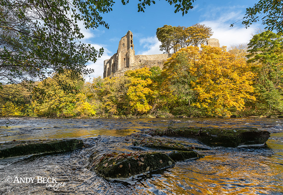 Barnard Castle and the Tees