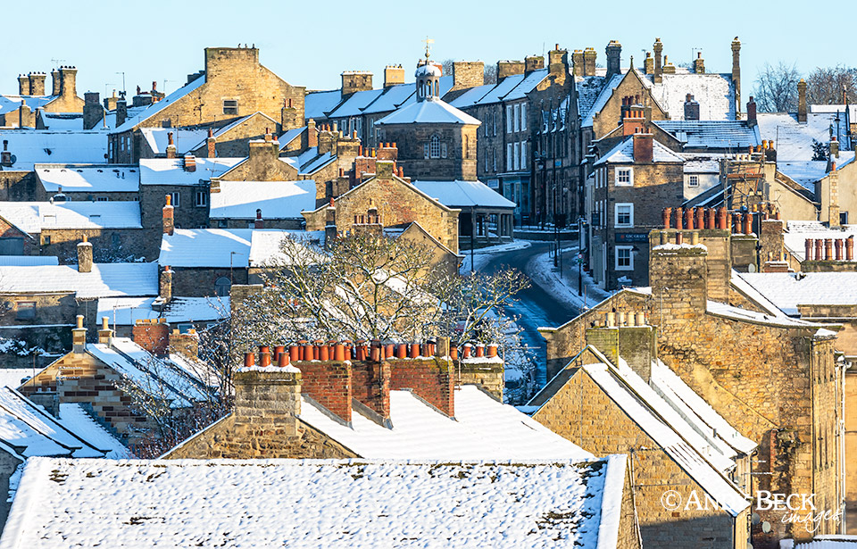 Rooftops of Barnard Castle