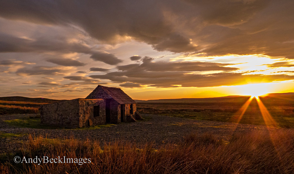 Bowes Moor sunset