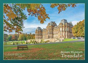 Bowes Museum Postcard