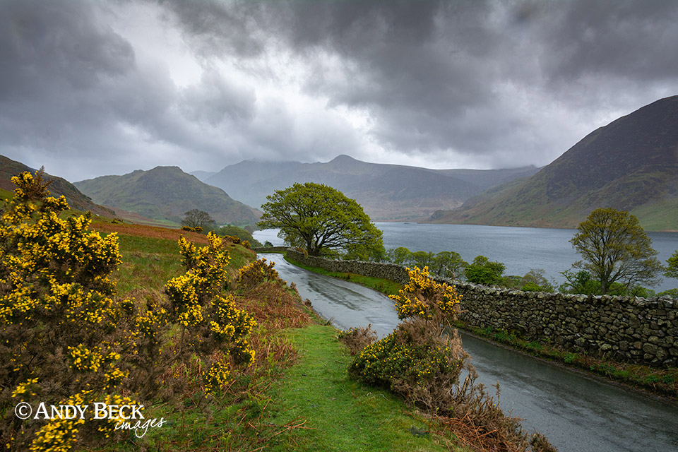 Crummockwater in the rain