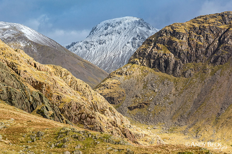Great Gable from Dore Head