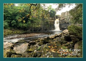 High Force Waterfall postcard