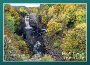 High Force postcard