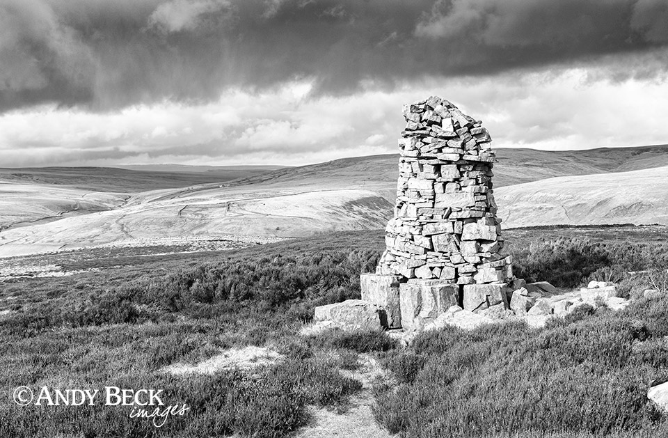 Cairn on Kisdon, Swaledale