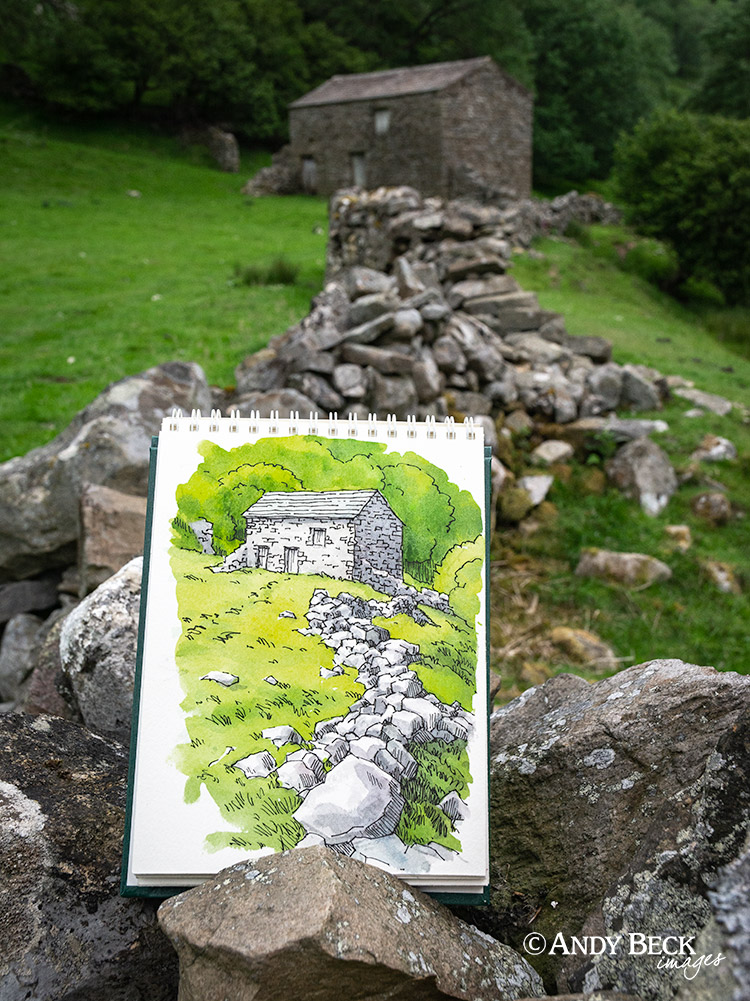 Sketching near Muker