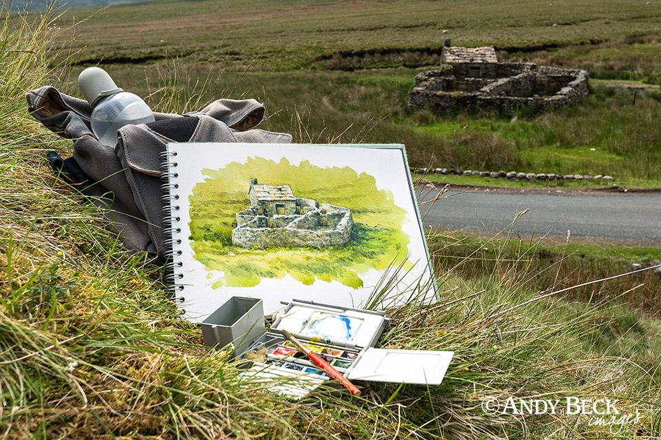 Sketching in Swaledale