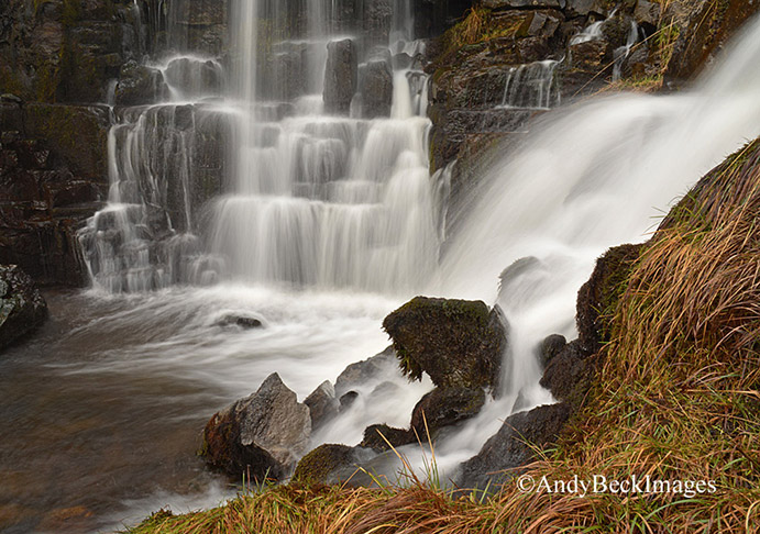 Teesdale waterfall near Holwick