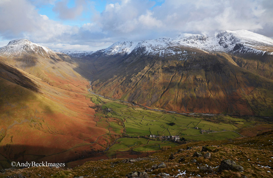 Wasdale Head in winter