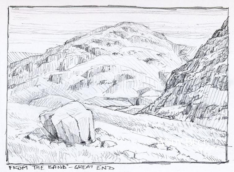 Allen Crags sketch