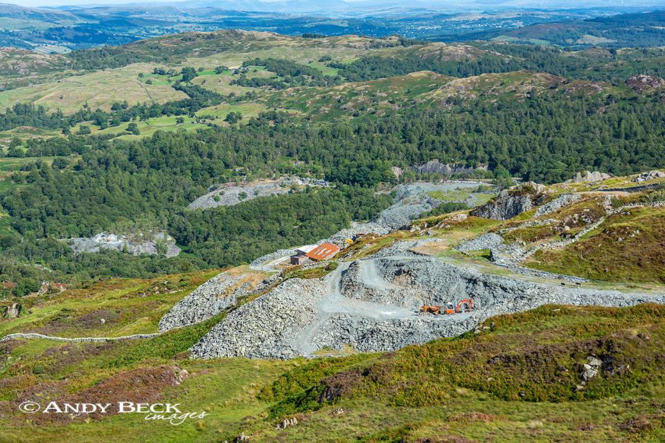 Betsy Crag slate quarry