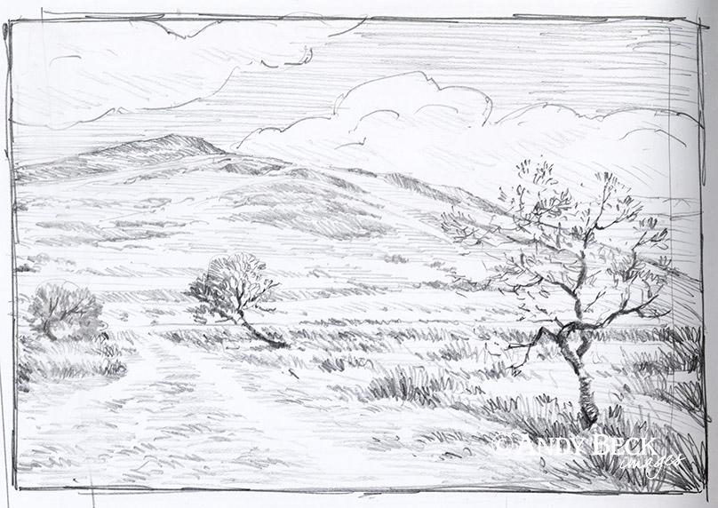 Binsey sketch