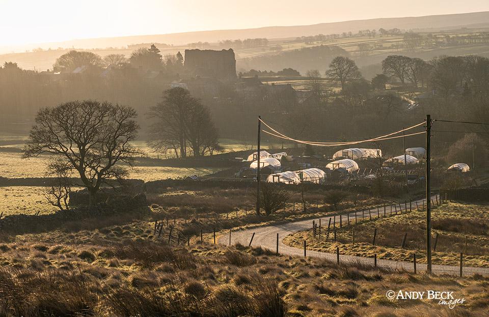 Bowes Village Teesdale