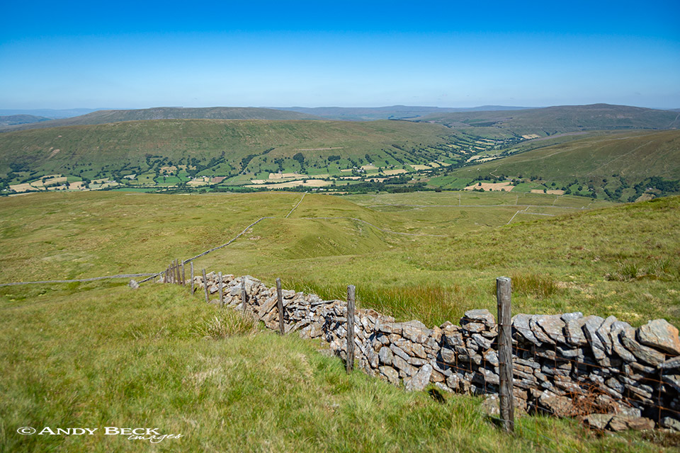 Dentdale from Great Coum