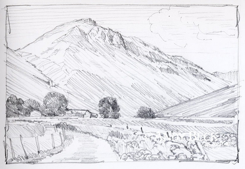 Great Gable sketch
