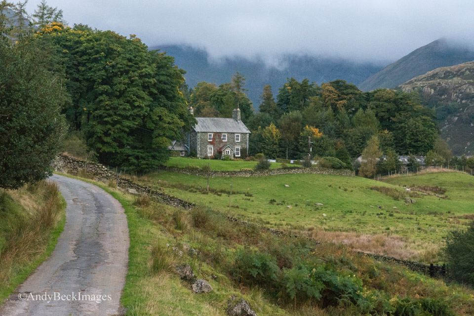 Hartrigg Farmhouse in the Kentmere valley