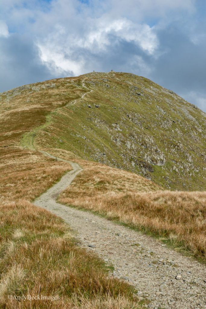 Folllowing the footpath to Ill Bell