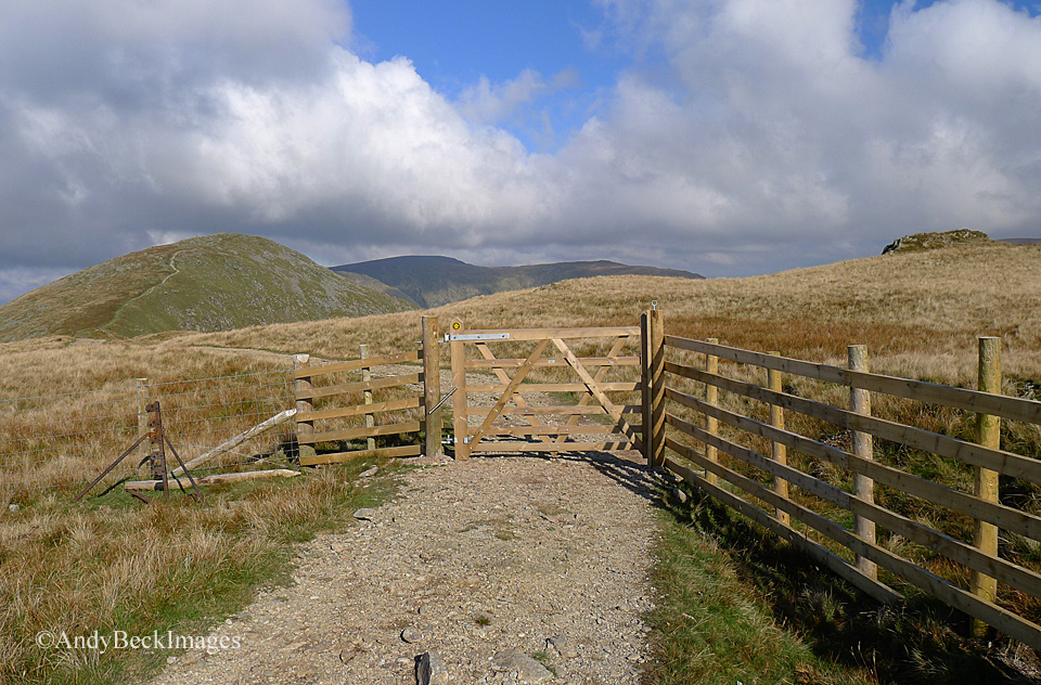 Looking to Ill Bell from the footpath on Yoke