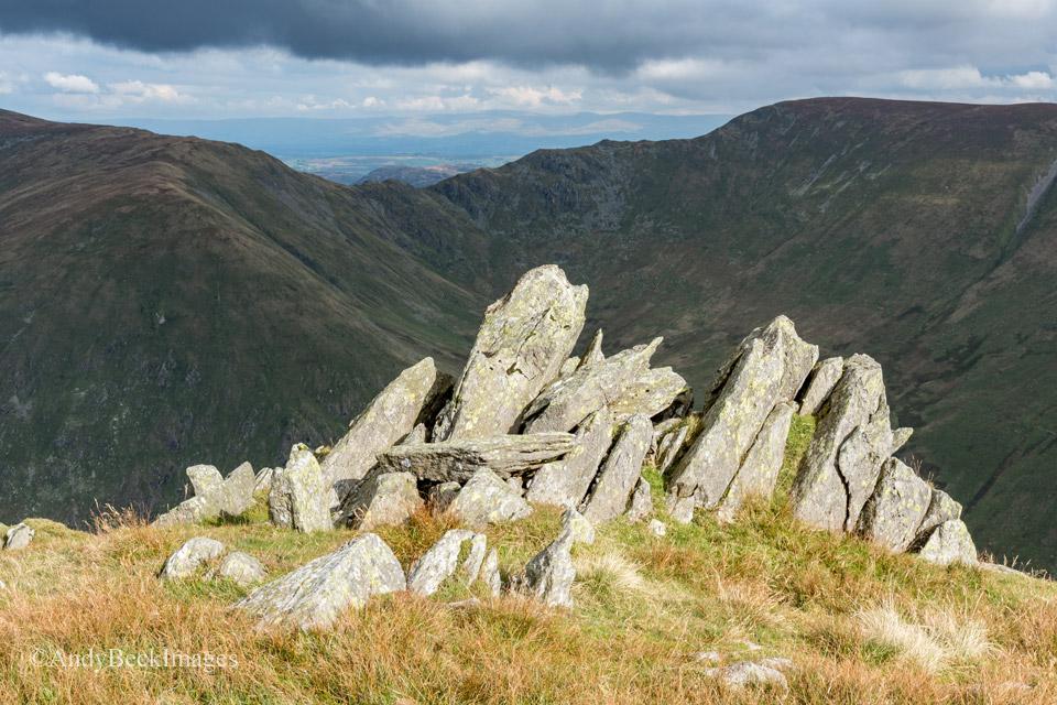 Ill Bell's summit rocks