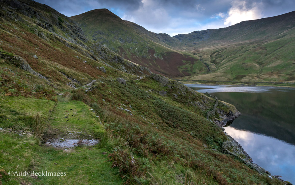 Lingmell End from the Kentmere Reservoir