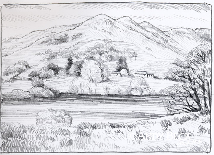 Loughrigg Fell sketch