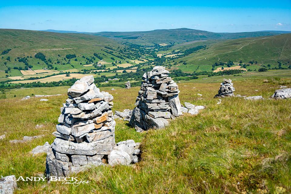 Megger stones above Dentdale