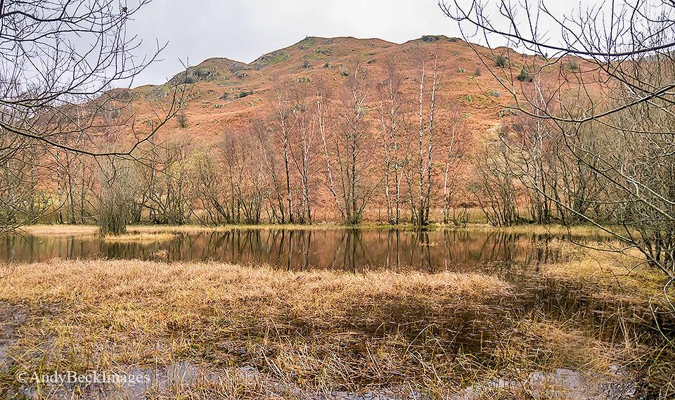 Arnison Crag Mill Moss tarn