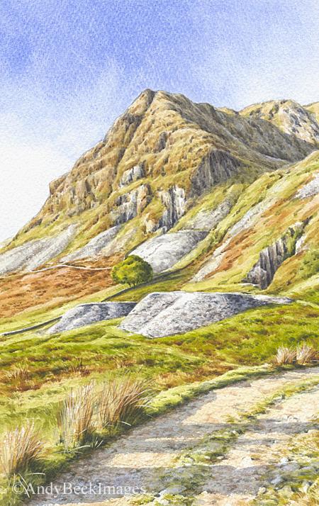 Rainsborrow Crag sketch