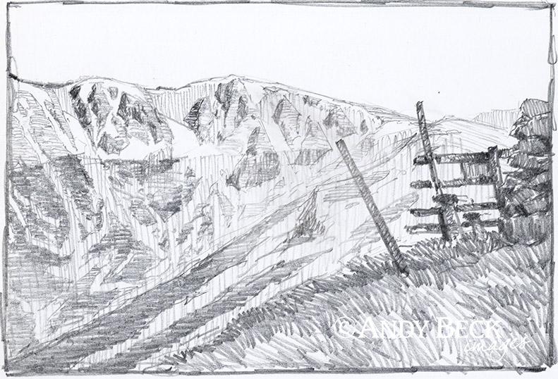 Rampsgill Head sketch