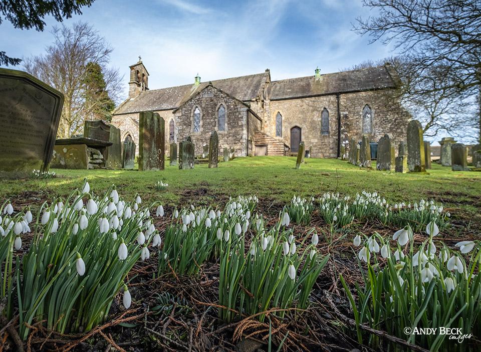 St Giles church Bowes