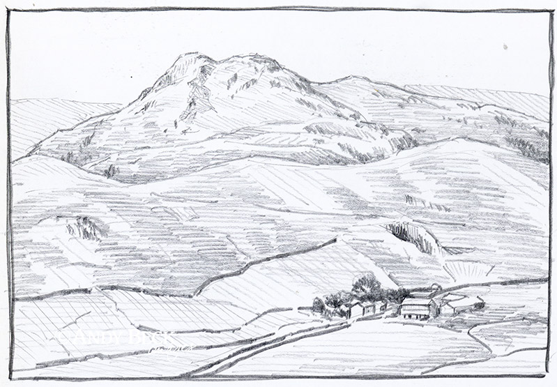 Stickle Pike sketch