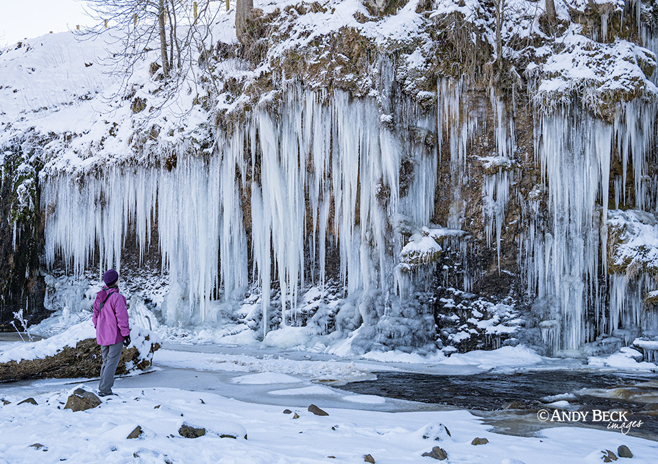 Teesdale icicles