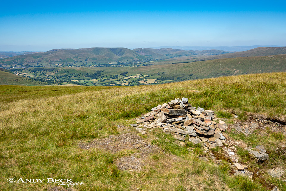The Howgill fells from Great Coum