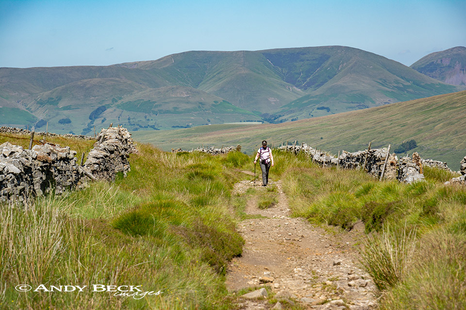 The Howgills from Dentdale