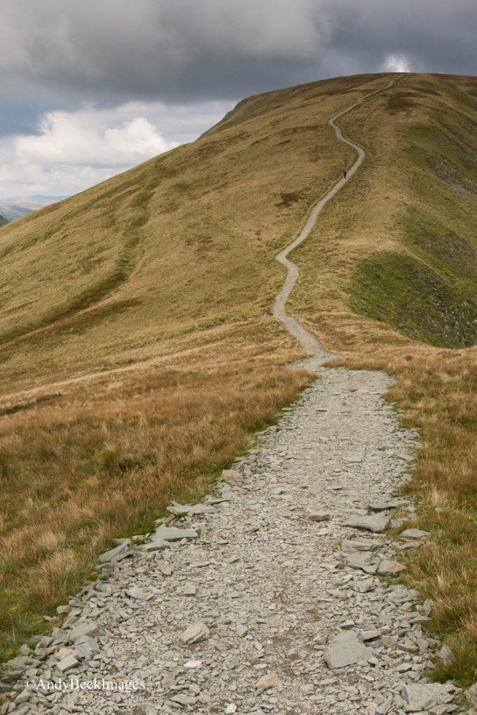 Thornthwaite Crag repaired path