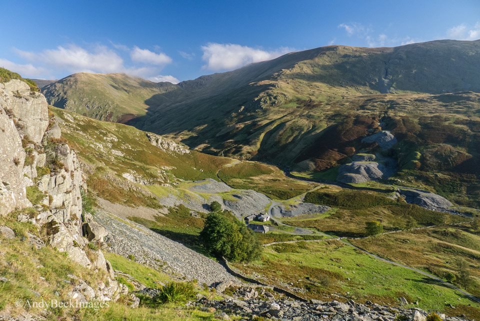 The view of Upper Kentmere from just under Rainsbarrow Crag