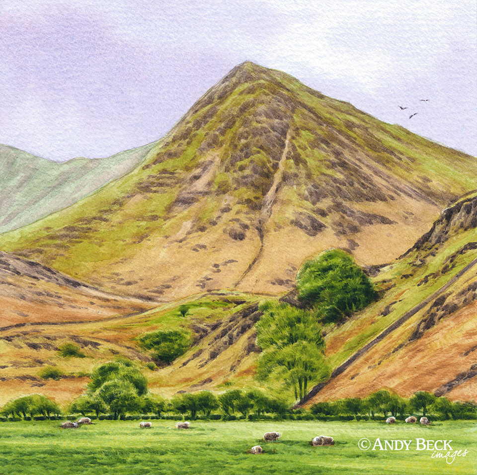 Whiteless Pike from Rannerdale