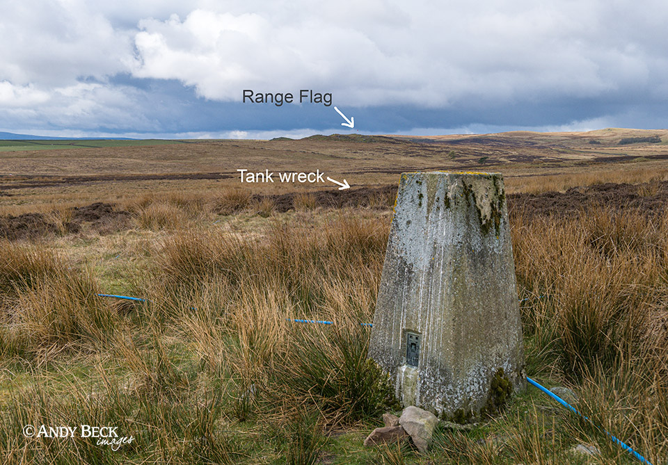 Currack Rigg tank wreck location