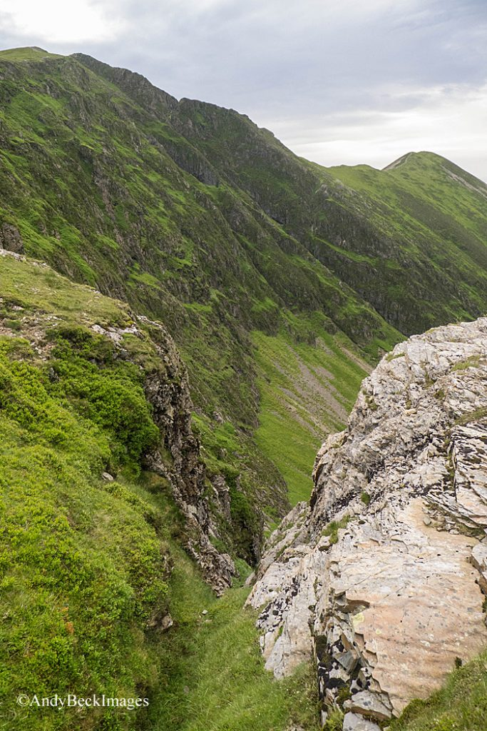 Hobcarton Crag from near Grisedale Pike