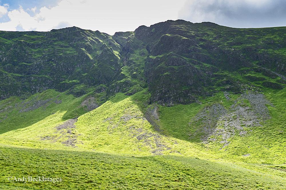 Hobcarton Crag gullies